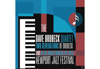The Dave Brubeck Quartet - Two Generations Of Brubeck - At The Apollo Theatre, NY, 1973 - (CD)