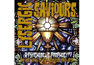 VARIOUS - Lysergic Saviours (Lim.180 Gr.Coloured LP+CD) - (CD + DVD Video)