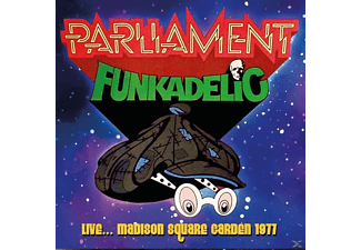 Parliament-Funkadelic - Live...Madison Square Garden 1977 (180gr.Blue LP) - (Vinyl)