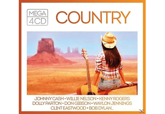 VARIOUS - Mega-Country - (CD)