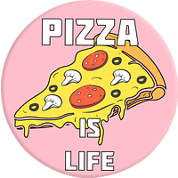 POPSOCKETS PIZZA Phone Grip & Stand, mehrfarbig