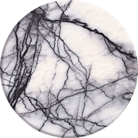 POPSOCKETS WHITE MARBLE Phone Grip & Stand, mehrfarbig