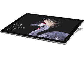 MICROSOFT Surface Pro, Convertible mit 12.3 Zoll Display, Core™ m3 Prozessor, 4 GB RAM, 128 GB SSD, Intel® HD-Grafik 615, Silber