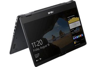 ASUS TP510UQ-E8033T, Convertible mit 15.6 Zoll Display, Core™ i5 Prozessor, 8 GB RAM, 1 TB HDD, 128 GB SSD, GeForce® 940MX, Star Grey