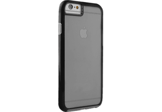 PURO Flex Shield Handyhülle, Schwarz, passend für Apple iPhone 6/iPhone 6s