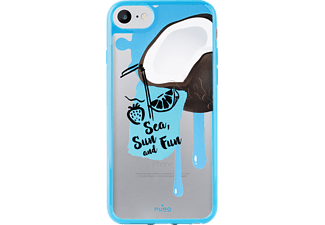 PURO Summer Juice Backcover Apple iPhone 7/iPhone 6/iPhone 6S  Blau