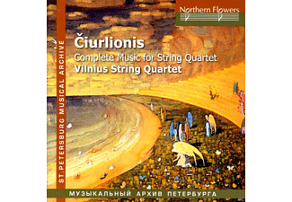 Vilnius String Quartet - Complete Music for String Quartet - (CD)