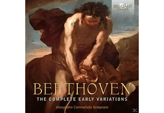 Sonja Angelina Krenn, Elena Costa, Alessandro Commellato - The Complete Early Variations - (CD)