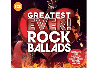 VARIOUS - Rock Ballads-Greatest Ever - (CD)