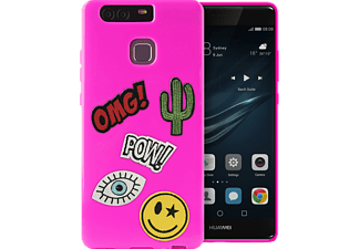 Patch Mania Backcover Huawei P9  Pink