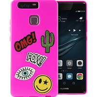 PURO Patch Mania , Backcover, Huawei, P9, Pink