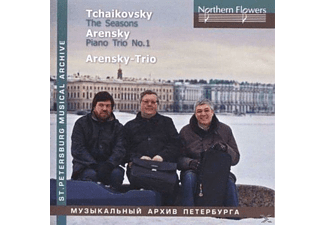 Arensky Trio - Tchaikovsky The Seasons/Arensky op.32 - (CD)