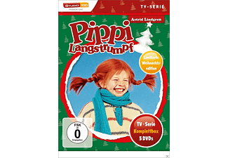Pippi Langstrumpf - TV-Serie Komplettbox - (DVD)