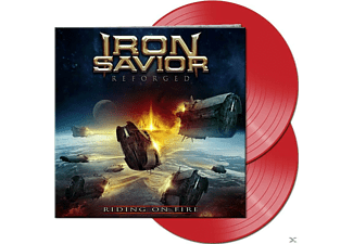 Iron Savior - Reforged - Riding On Fire (Gtf. Red 2 Vinyl) [Vinyl]