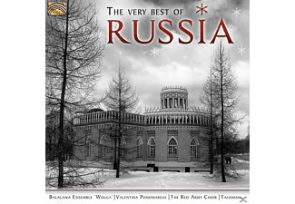 VARIOUS - The Very Best Of Russia - (CD)