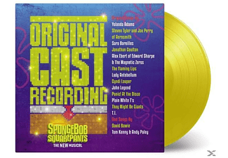 Various - Spongebob Squarepants New Musical (Ltd Yellow) - (Vinyl)