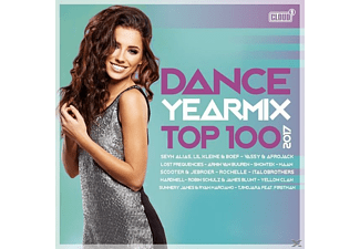 VARIOUS - Dance Yearmix Top 100-2017 - (CD)