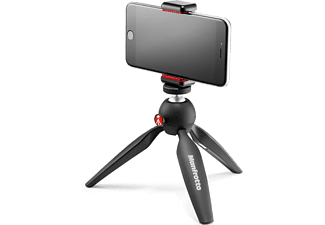 MANFROTTO MKPIXICLAMP-BK Mini Tripod Bk W/Phone Cl