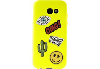 PURO Patch Mania Backcover Samsung Galaxy A3 2017  Grün
