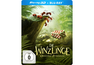Die Winzlinge-Operation Zuckerdose (Deluxe Edition) - (3D Blu-ray)