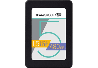 TEAM GROUP SSD Festplatte L5 Lite SSD 480GB, SATA (T2535T480G0C101)