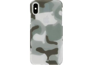 ARTWIZZ Camouflage Clip Handyhülle, Camouflage, passend für Apple iPhone X