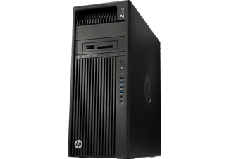 HP Z440 Workstation Desktop PC, Schwarz