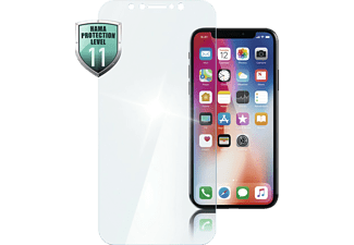 HAMA Diamond 9H, Schutzglas, Transparent, passend für Apple iPhone X