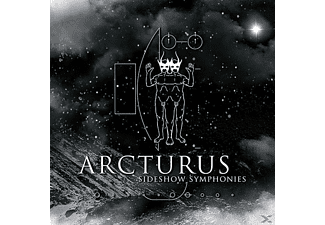 Arcturus - Sideshow Symphonies (Re-Issue) - (CD + DVD Video)