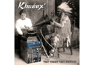 Khu.éex' - They Forgot They Survived (White Vinyl) - (Vinyl)