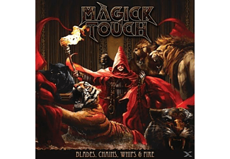 Magick Touch - Blades,Whips,Chains & Fire (Black Vinyl) - (Vinyl)