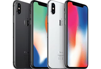 "Móvil - iPhone X, 64 GB, Super Retina de 5.8"", 12 Mpx, Red 4G LTE, Gris espacial"