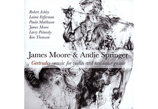 James Moore, Andie Springer - Gertrudes - (CD)