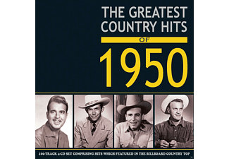 VARIOUS - Greates Country Hits of 1950 - (CD)