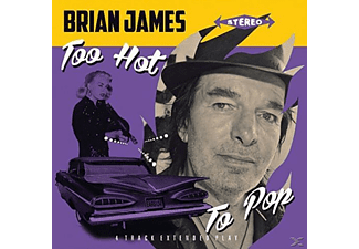Brian James - too hot to pop ep - (Vinyl)