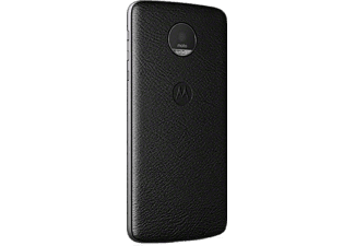 MOTO MODS BACK COVER - BLACK LEATHER