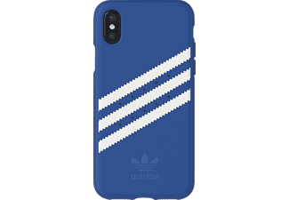 ADIDAS Originals Stripes Case Handyhülle, Blau/Weiß, passend für Apple iPhone X