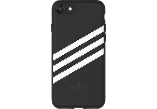 ADIDAS Originals Stripes Case Handyhülle, Schwarz/Weiß, passend für Apple iPhone 6, iPhone 6s, iPhone 7, iPhone 8