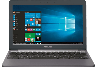 ASUS E203NA-FD029TS, Netbook mit 11.6 Zoll Display, Celeron® Prozessor, 4 GB RAM, 32 GB eMMC, HD-Grafik 500, Star Grey