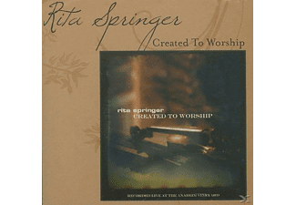 Springer,  Rita - Created To Worship - (CD)