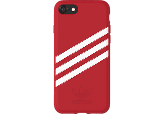 ADIDAS Originals Stripes Case iPhone 6, iPhone 6s, iPhone 7, iPhone 8 Handyhülle, Rot/Weiß