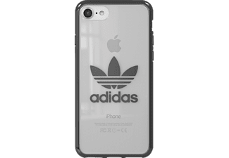 ADIDAS Originals Clear Case Handyhülle, Silber/Metallic, passend für Apple iPhone 7, iPhone 8