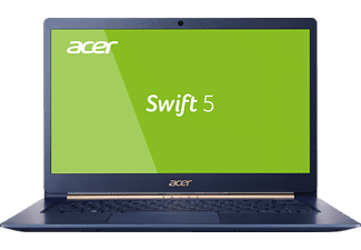 ACER Swift 5 (SF514-52T-819U), Notebook mit 14 Zoll Display, Core™ i7 Prozessor, 8 GB RAM, 512 GB SSD, UHD-Grafik 620, Blau