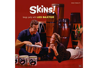 Les Baxter - Skins!+Round the World with Les Baxter - (CD)