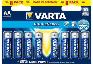 VARTA High Energy - Pila (Blu/Argento)