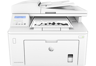 HP LaserJet Pro MFP M227sdn, 3-in-1 Multifunktionsdrucker, Weiß