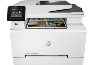 HP Color LaserJet Pro-MFP M281fdn, 4-in-1 Multifunktionsdrucker, Weiß