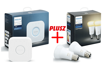 PHILIPS HUE Bridge AppleHomeKit + 2db Philips Hue white ambiance izzó