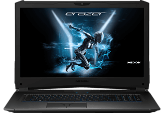 MEDION Erazer X7857, Gaming Notebook mit 17.3 Zoll Display, Core™ i7 Prozessor, 16 GB RAM, 256 GB SSD, 1 TB HDD, GeForce GTX 1070, Schwarz