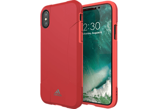 ADIDAS Performance Solo Case iPhone X Handyhülle, Rot/Pink